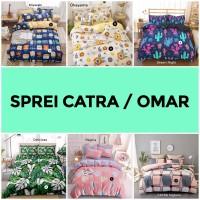 Sprei CATRA / OMAR / NIRWANA / LUSIANA - Bahan Katun Lokal