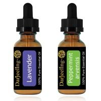 Paket Hemat 2 x 30ml Essential Oil Lavender & Peppermint 100% Murni