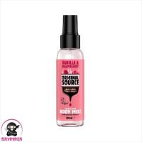ORIGINAL SOURCE Body Mist Vanilla Raspberry 100 ml