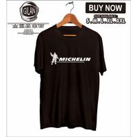 Kaos Baju Michelin Logo Ban Mobil Motor Kaos Otomotif - Gilan Cloth