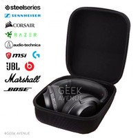 Tas Headphone Case Headphone Gaming Hardcase Audio Technica - Besar