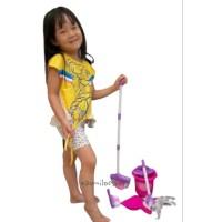 Mainan Kebersihan Anak Perempuan Cleaning Set Helper Beberes Rumah - bubble normal