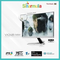 Monitor LED 24 ViewSonic VX2481-MH 75Hz 102% sRGB IPS Free Syn 1ms