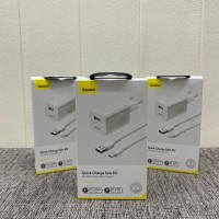 Charger Baseus Sets Quick Charge 24W iPhone Lightning