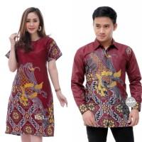 Couple Batik - Dress Batik - Kemeja Batik Pria - Couple Best Seller