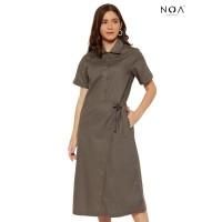 NOA everyda Dress Wanita Casual Dress KEYKO Midi Dress