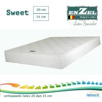 (PROMO PEDULI BANJIR ) Kasur Enzel Latex Sweet 20cm Uk 160x200