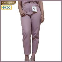(K2022) Celana Panjang Wanita Import Premium Pinggang Karet