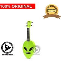 Ukulele Soprano Mahalo Alien Glow Green MC1ALGGN + Softcase