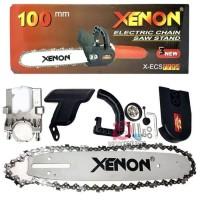 Orange Electrik Chain Saw Stand - Set Perangkat Gergaji Listrik