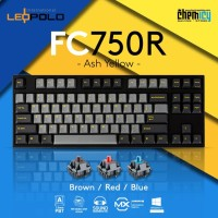 Leopold FC750R Ash Yellow Mechanical Gaming Keyboard
