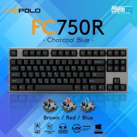 Leopold FC750R Charcoal Blue Mechanical Gaming Keyboard