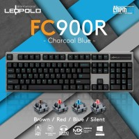 Leopold FC900R Charcoal Blue Mechanical Gaming Keyboard