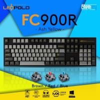 Leopold FC900R Ash Yellow Mechanical Gaming Keyboard