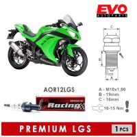 Busi BRISK Premium LGS AOR10LGS untuk Motor Kawasaki Ninja 250