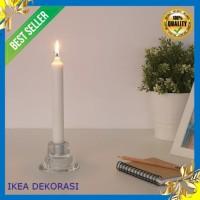 Tempat Lilin Kaca Ikea NEGLINGE Tempat lilin Dekorasi Lilin Hiasan