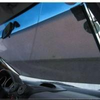 Pelindung Kaca Mobil anti Panas, Retak Tirai Model Roll Gulung Aman