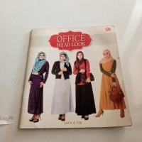 majalah office hijab look