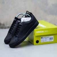 Sepatu Lari Running Sepatu Adidas Advantage Full Black 39-44 BNIB