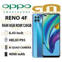 Oppo Reno 4F 8/128 RAM 8GB ROM 128GB GARANSI RESMI OPPO