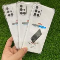 Jelly Case Anti Crack Bening Transparan Samaung M51
