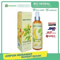 Bio Herbal Ginseng Hair Tonic Original Perawatan Rambut Rontok