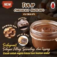 Tulip Chocolate hazelnut 250gr Repack