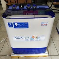Mesin Cuci Aqua By Sanyo 7kg QW 755XT/QW 780XT Khusus BogorFree Ongkir