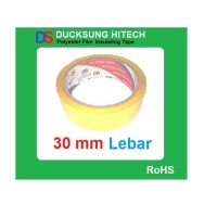 Ducksung Hitech 30 mm Yellow Polyester Film Insulating Tape