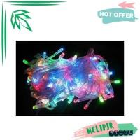 Lampu Tumbler Rainbow 10 Meter / Lampu Hias / Lampu Natal LED Beras