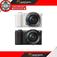 Sony Alpha A5100 Kit 16-50mm - STANDAR, Hitam