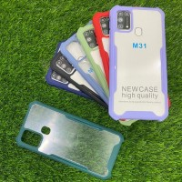 Case Spigen Acrylic Transparan List Warna Samsung M31