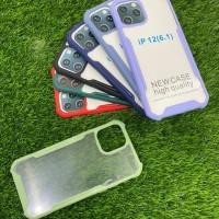 Case Spigen Acrylic Transparan List Warna iPhone 12