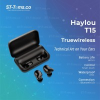 Haylou T15 TWS bluetooth 5.0 With Dock Charging