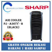 SHARP PJ-A36TY-B/W – AIR COOLER - Hitam