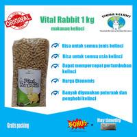 Pakan Pelet Makanan Kelinci Vital Rabbit 1 Kg (repack) Murah Terlaris