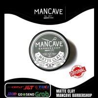 Mancave Matte Clay Pomade Water Based 100 Gr / Pomade Original