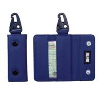 Gantungan Kunci Mobil Motor Carabiner Dompet STNK Slim Trifold DS54