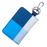 Dompet STNK Motor Mobil Kartu SIM eToll / Gantungan Kunci / Kain DS01