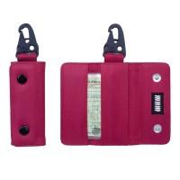 Gantungan Kunci Mobil Motor Carabiner Dompet STNK Slim Trifold DS53