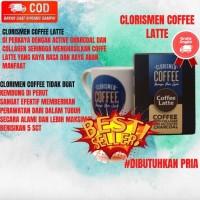 Cloris Men Coffe Latte Bercollagen Perawatan Kulit Pria Original