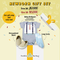 NEWBORN BABY GIFT SET | GIFT PACKAGE A