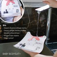 2in1 Bodysuit Bayi 100% Katun + Slabber   Freddie the Frog   Doodle #1