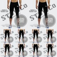 Celana legging 7/8 Training Futsal Gym Fitnes Nike Adidas