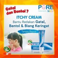 BPOM - Pure Kids ITCHY CREAM 10 gr BPOM / Pure Baby / MY MOM