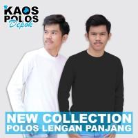 Kaos Polos Panjang Cotton Combed 30s Reaktif Bandung Size S M L XL XXL