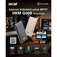 Modem Mifi HKM G008 XL GO IZI 4G LTE Wifi - UNLOCK ALL OPERATOR