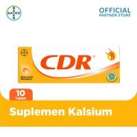 CDR Suplemen Kalsium Rasa Jeruk 10 Tablet