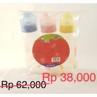 Botol Susu Bayi /Feeding Bottle Set 3 botol dalam Hanger Bag, Wee 005