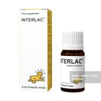 Interlac Probiotic Drops Suplemen Makanan - 5ml